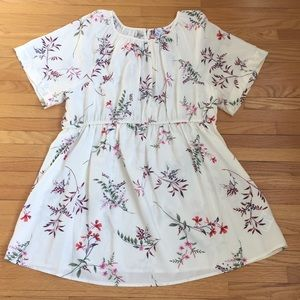 Old Navy floral empire waist maternity top